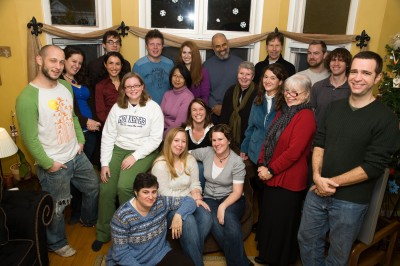 ODU MFA Creative Writing Program students and faculty, Winter 2009