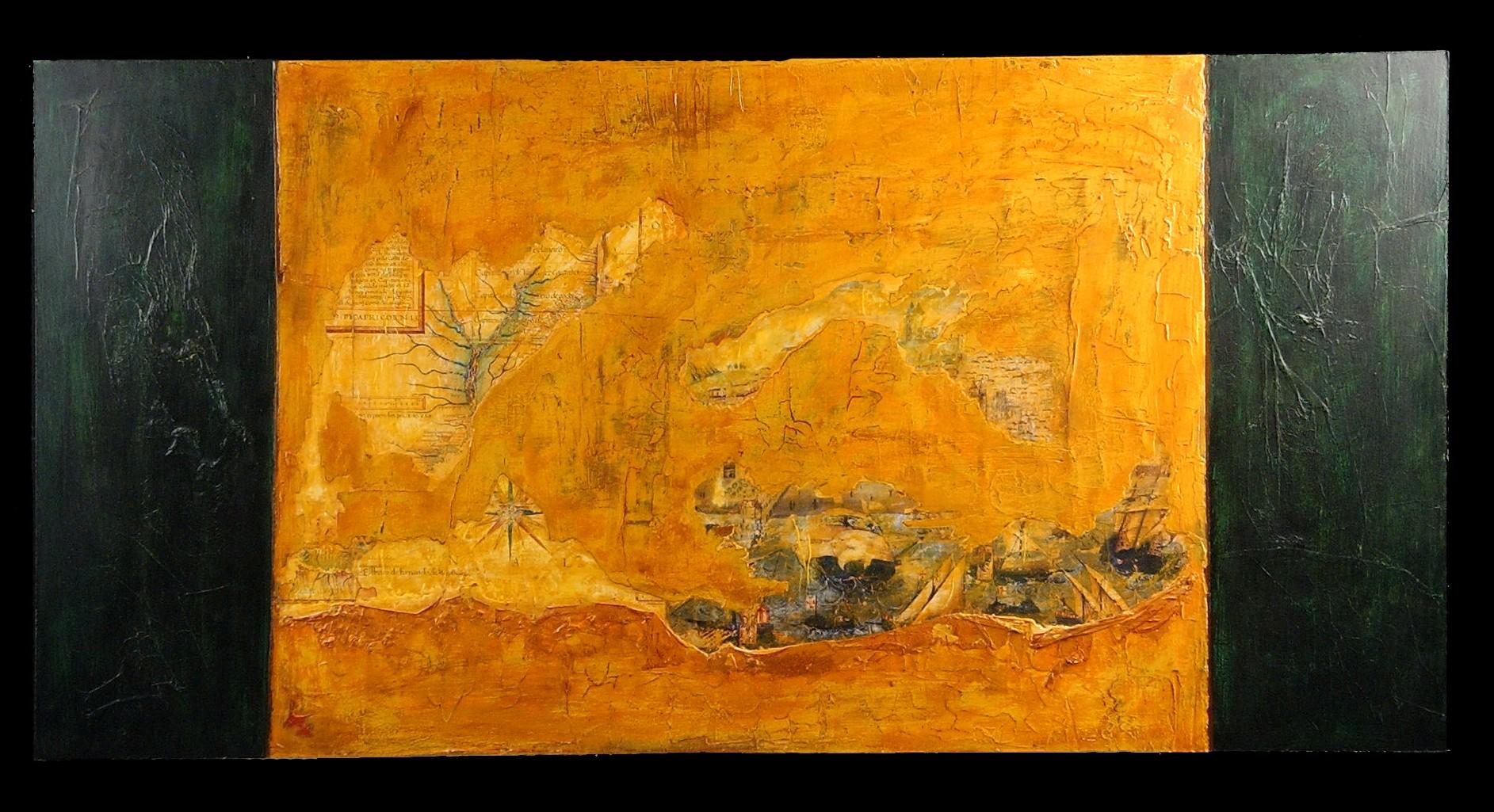 Three paintings from Whitewash